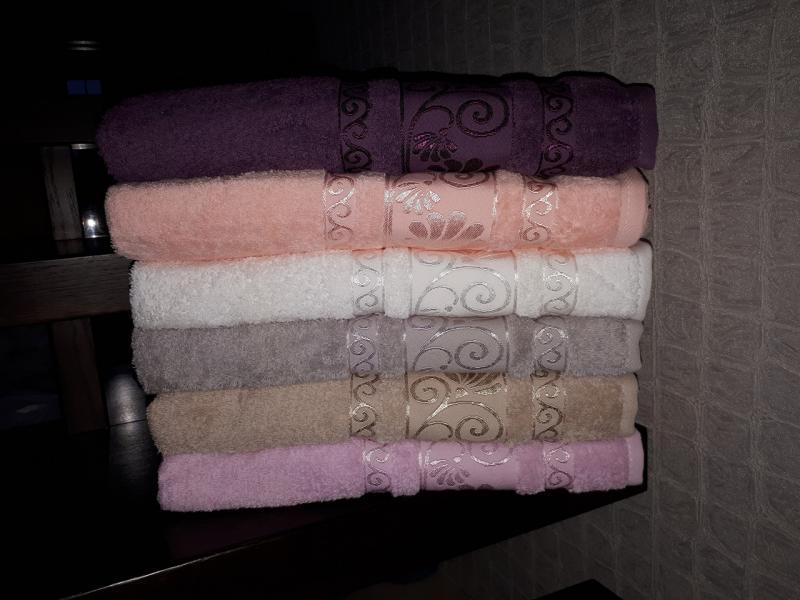 Фото Полотенца, Лицевые полотенца Махровое полотенце 50*90 Pupilla Турция
