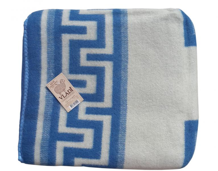 Одеяло шерстяное Жаккард 1,5 Vladi