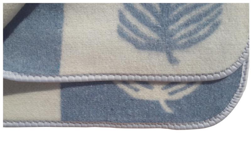 Фото Одеяла, Одеяла шерстяные Одеяло шерстяное Жаккард 1,5 Vladi
