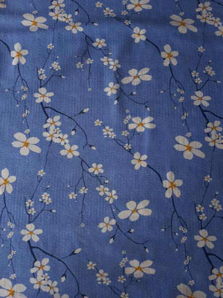 Постельное белье 2,0 Жатка Синие цветы