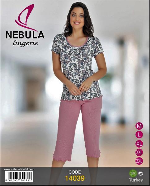 Комплект женский футболка и капри NEBULA