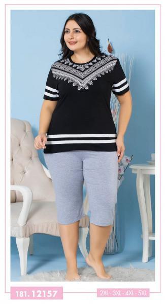 Женский комплект футболка и бриджи SEXEN