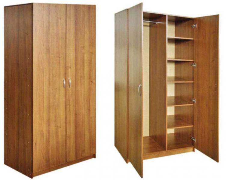 Шкаф для одежды с распашными дверьми от производителя в РБ