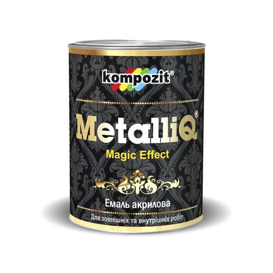 Эмаль акриловая Kompozit METALLIQ Жемчуг 0.9л