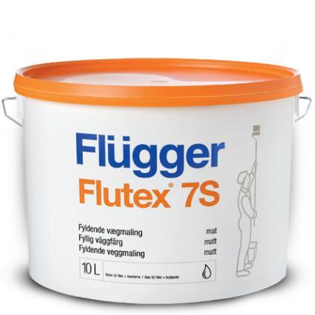 Краска для стен и потолков Flugger Flutex 7S 10 л