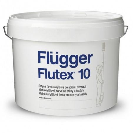 Краска для стен Flugger Flutex 10 10л