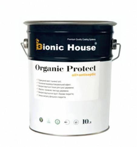Антисептик на основе льняного масла  BIONIC HOUSE Organic Protect Oil 2,8 л