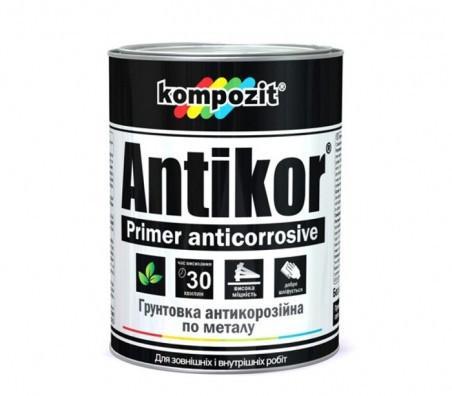 Грунтовка для металла ANTIKOR  Kompozit Красно-коричневый 3,5 кг