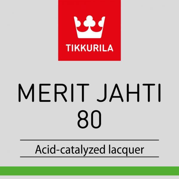 Лак полиуретановый TIKKURILA MERIT JAHTI 80 для древесины, 20л.