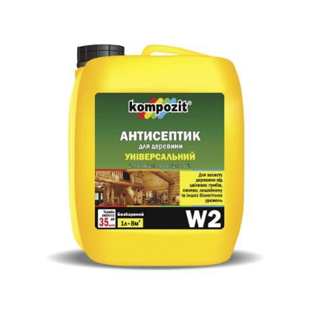 Антисептик универсальный W2 Kompozit 10 л