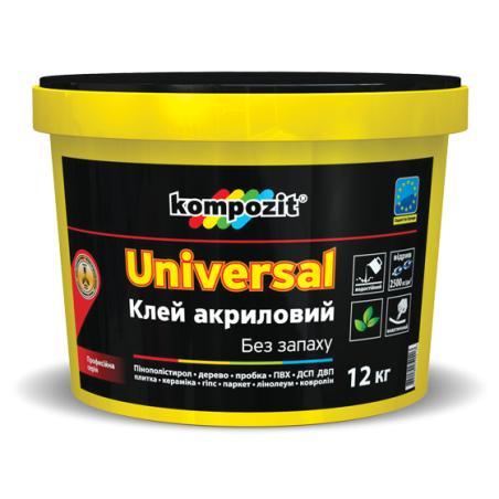 Клей акриловый UNIVERSAL  Kompozit 12кг