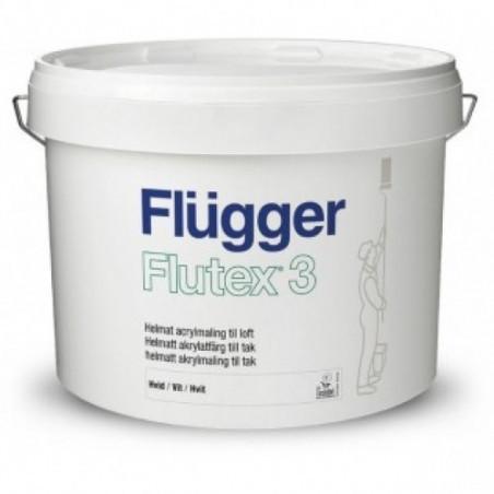 Краска для стен и потолков Flugger Flutex 3 10л