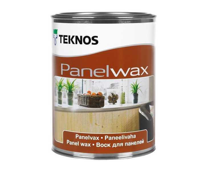 Масло-воск влагозащитный TEKNOS PANELWAX для древесины, 0,9л