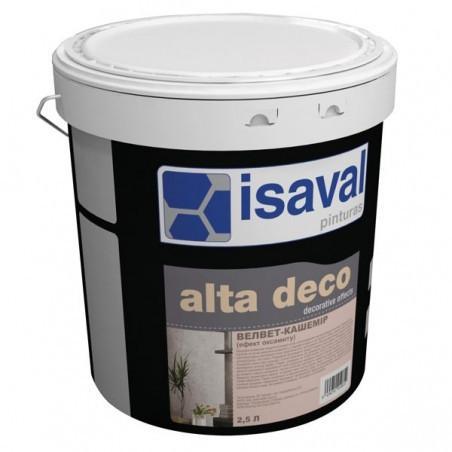 Декоративное покрытие  ISAVAL Сиамм 2.5 л серебро