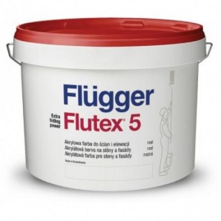Краска для стен и потолков Flugger Flutex 5  10л