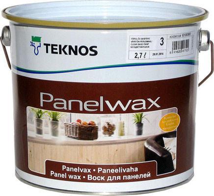 Масло-воск влагозащитный TEKNOS PANELWAX для древесины, 2,7л