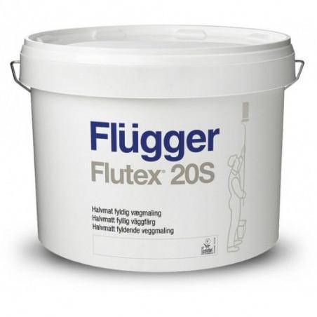 Краска для стен Flugger Flutex 20S 10л