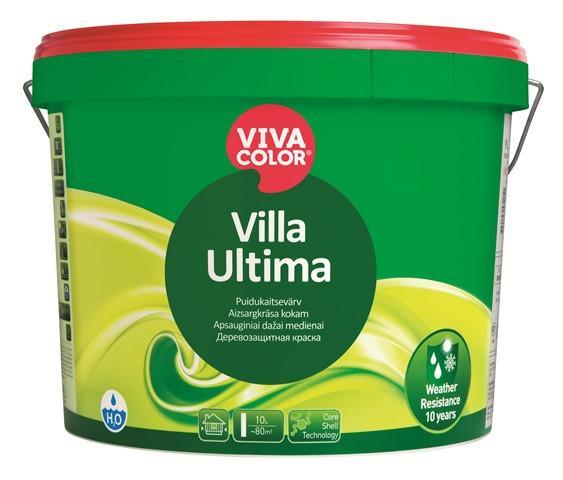 Краска  для дерева деревозащитная Villa Ultima   Vivacolor  база  VC колеруется в темные тона, 0.9
