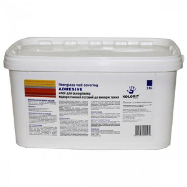 Клей для стеклообоев Adhesive TM Kolorit 5л. 10
