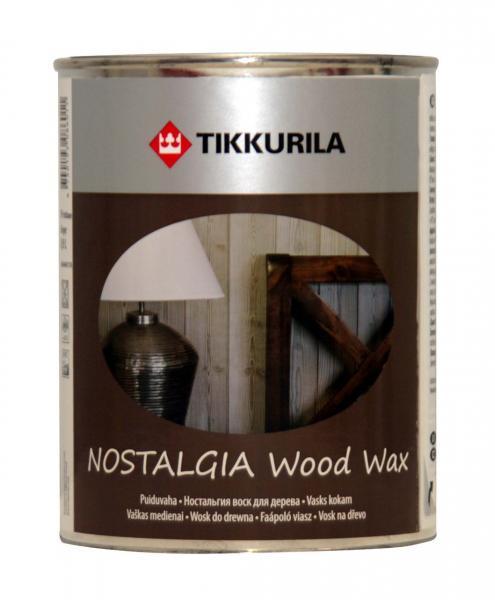 Воск для мебели и стен Ностальгия Тиккурила  кокос, 1