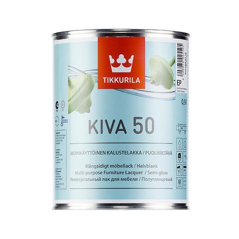 Лак для мебели  Кива полуглянцевый Тиккурила ( Kiva Tikkurila ) 0,9 л