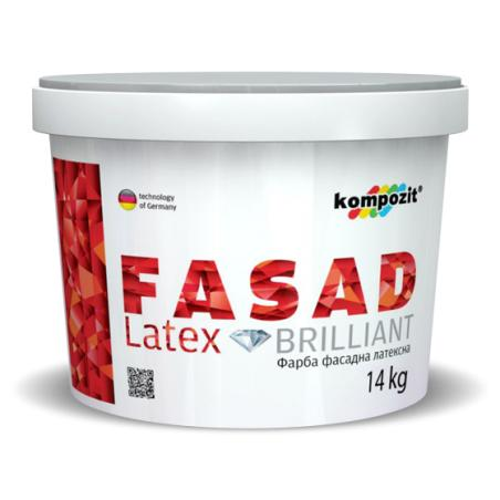 Фасадная краска FASADE Latex Kompozit 4.2 кг