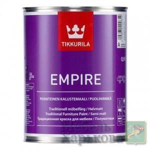 Краска для мебели Эмпир (Empire Tikkurila )  алкидная ,база А  9 л - Краски для мебели в Харькове