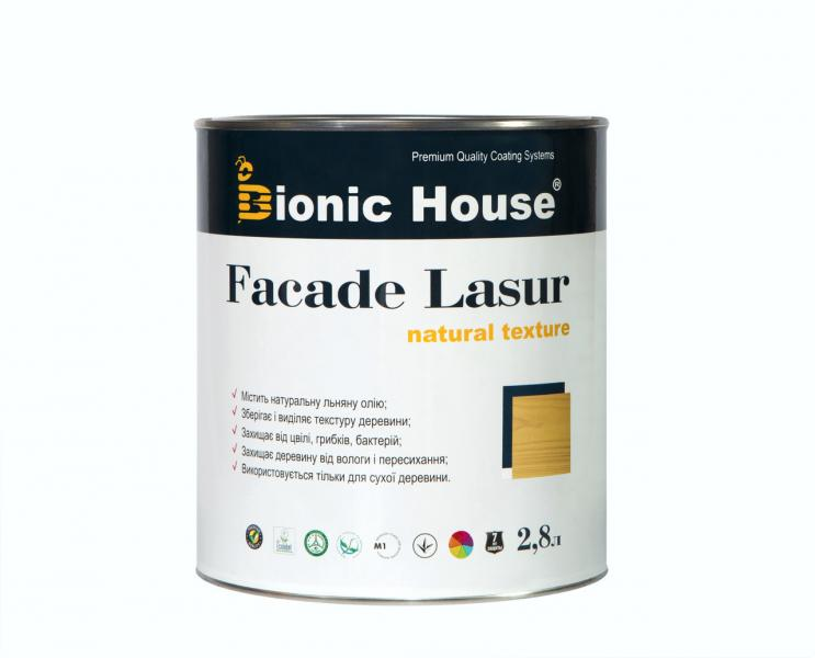 Масло для дерева террасное Terras Oil Bionic House с добавлением пчелиного воска грязе-водотталкивающее 1 л