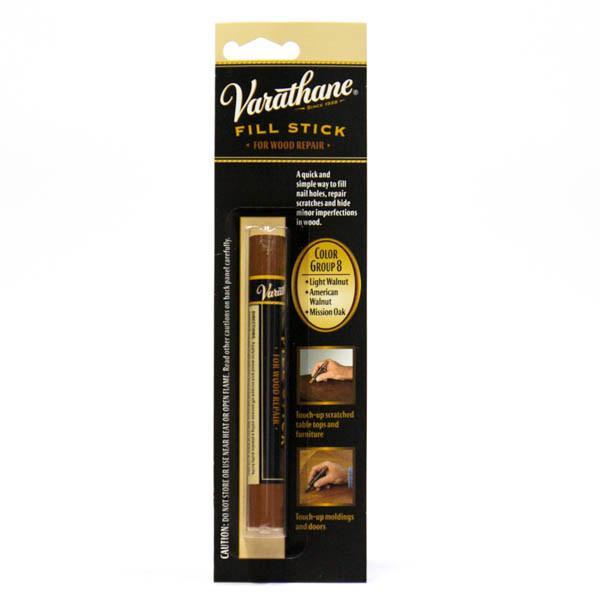 Восковый реставрационный карандаш для мебели,устранения царапин цвет светлый орех, Rust Oleum
