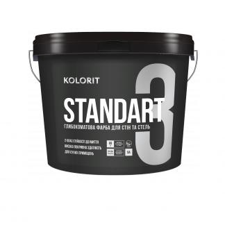 Standart 3 глубокоматовая интерьерная краска База С 9Л