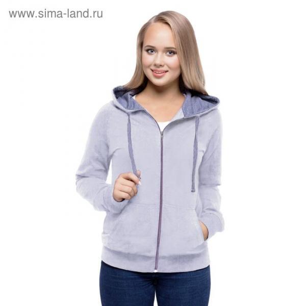 Толстовка женская StanCool, размер 48, цвет серый меланж 260 г/м 61W