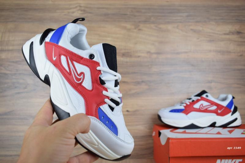 Фото СПОРТИВНАЯ ОБУВЬ, NIKE, Серия M2K Tekno Nike M2K Tekno White Blue Red (40-45)