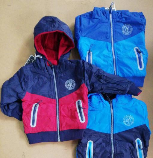 Куртка для мальчика двухсторонняя от 1 до 3 лет