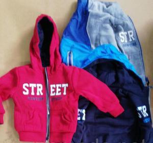 Фото Куртки, ветровки, парки, жилетки МАЛЬЧИКАМ Куртка для мальчика двухсторонняя от 1 до 4 лет