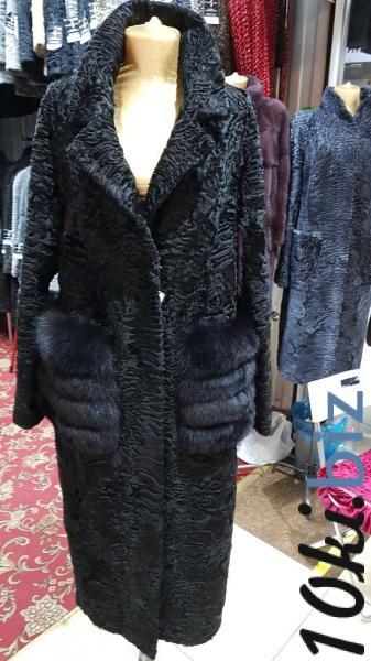 Пальто из каракуля черное Шубы из каракуля и каракульчи в Москве