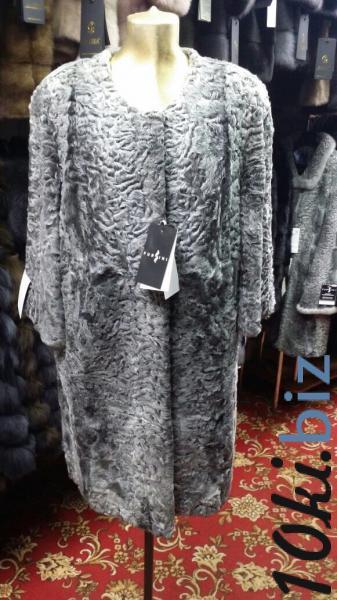 Пальто из каракуля серое Шубы из каракуля и каракульчи в Москве