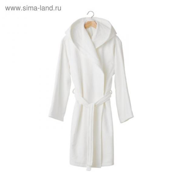 Халат купальный КРУСОН, размер S/M, цвет белый