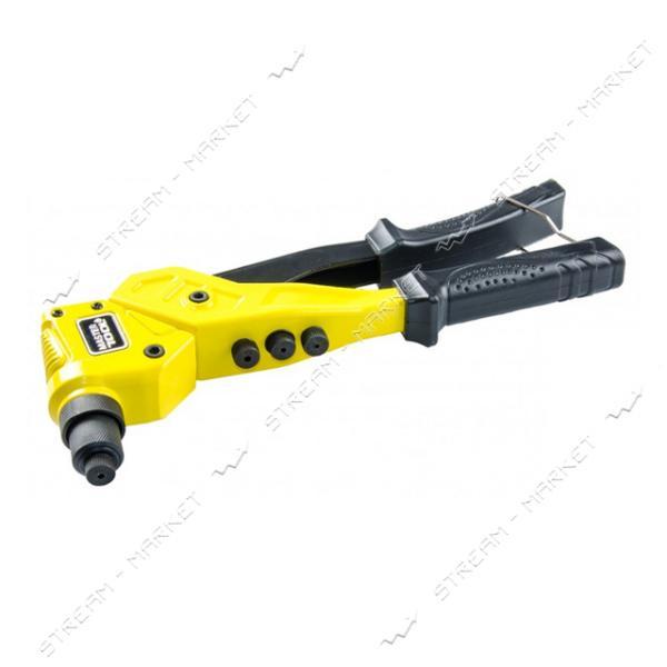 Пистолет для заклепок MASTERTOOL 21-0702 поворотный Профи, CrMo 2, 4/3, 2/4, 0/4, 8мм