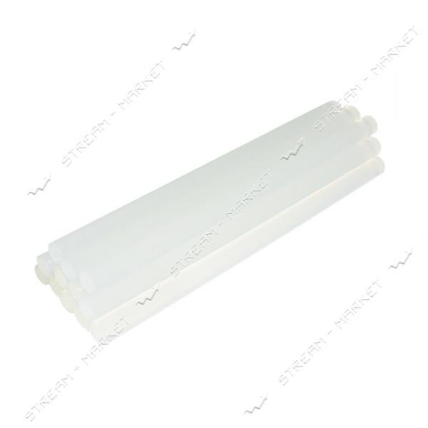 Стержни клеевые MASTERTOOL 42-0153 11, 2х200мм, 12шт, прозрачные