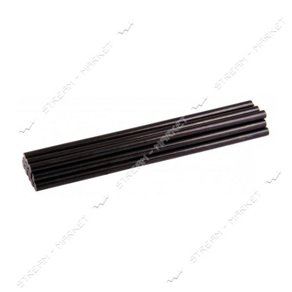 Стержни клеевые MASTERTOOL 42-0158 7, 2х200мм, 12шт, черные