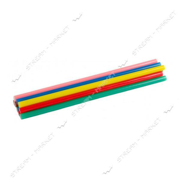 Стержни клеевые MASTERTOOL 42-0159 7, 2х200мм, 12шт, цветные