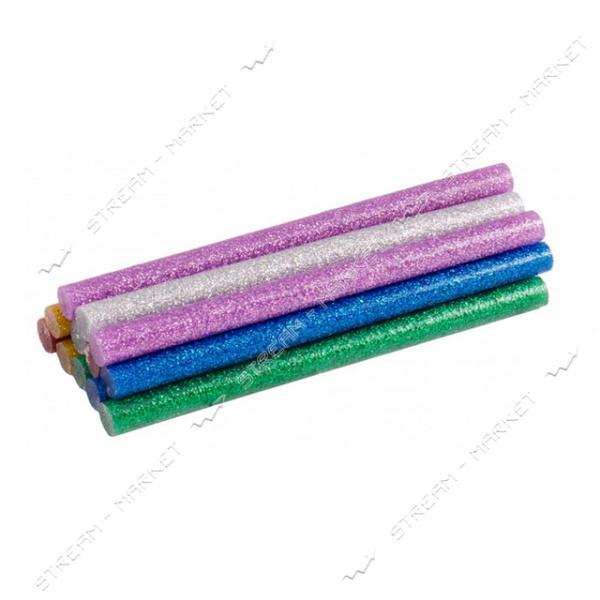 Стержни клеевые MASTERTOOL 42-0160 7, 2х100мм, 12шт, цветные перламутровые