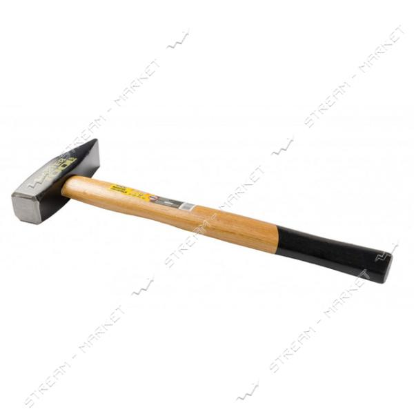 Молоток слесарный MASTERTOOL 02-0210 1000г деревянная рукоятка