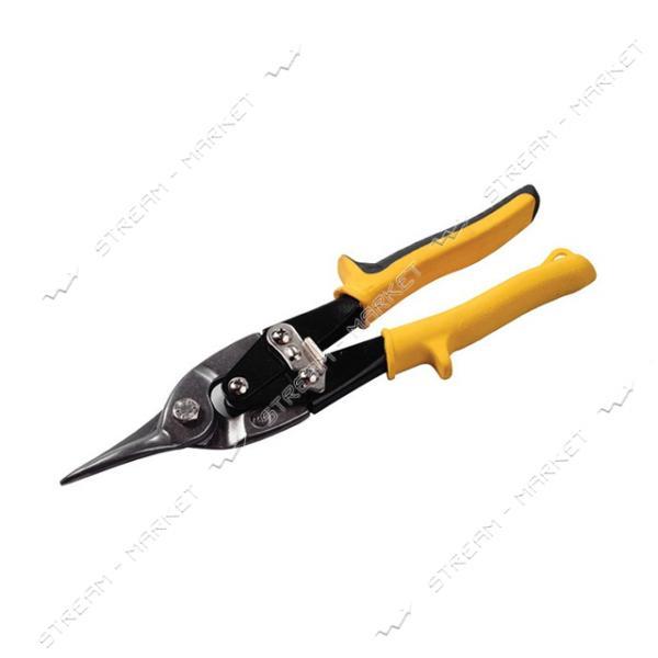 Ножницы по металлу MASTERTOOL 01-0424 250мм прямые CrV