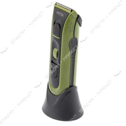 Машинка для стрижки Mirta HT-5210G 30Вт 3насадки покрытие лезвий - сталь