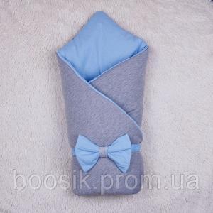 Демисезонный набор на выписку Mini (голубой) 74