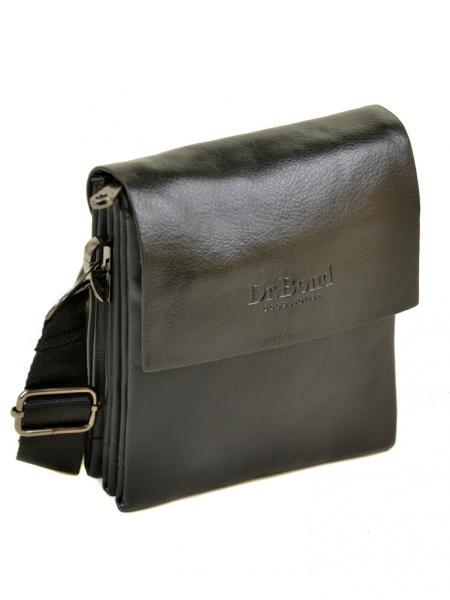 Фото  Мужская сумка  планшет иск-кожа DR. BOND 307-0 301-0  black