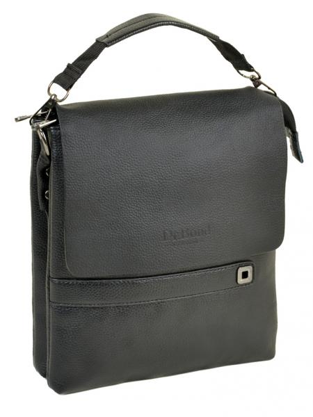 Фото  Мужская сумка планшет иск-кожа  DR. BOND 512-3 black