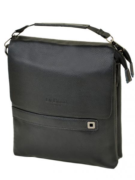 Фото  Мужская сумка планшет иск-кожа  DR. BOND 512-4 black