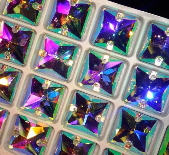 Квадраты Crystal AB 16*16